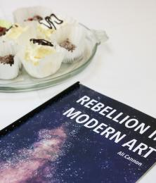 Rebellion in Modern Art program for the gallery opening of Ali Cannon